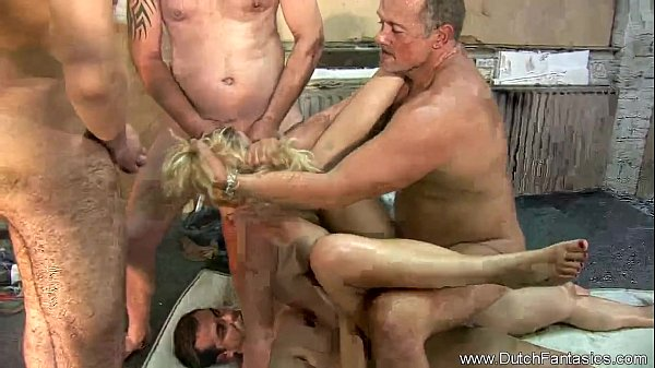 A Hard Sex With More Than Three Man In One Session