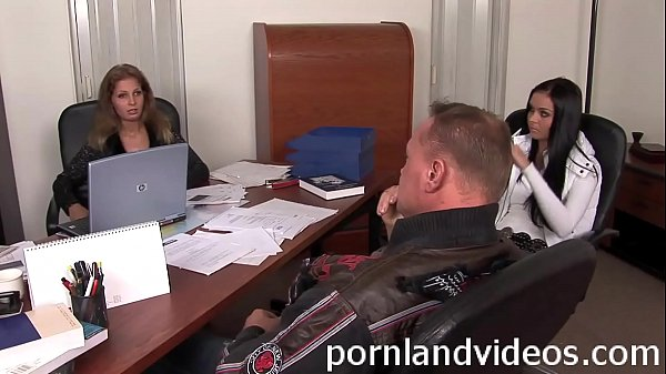 petite lawyer girl got fat big cock anal fuck in her office